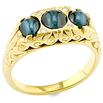 Alexandrite cat's eye,white diamond and yellow diamond gold ring.